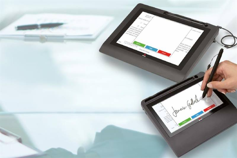 Tablet firma grafometrica